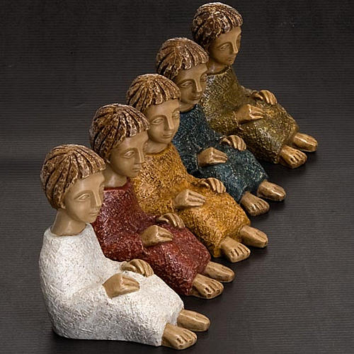 Kleine Krippe Bethlehem Joseph 2