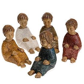 Crèches Monastère de Bethléem: St. Joseph Nativité petite