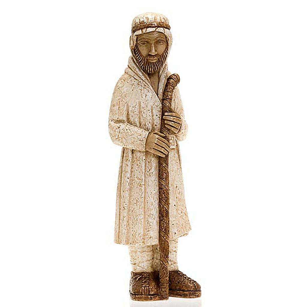 Pastore in piedi con bastone Presepe Contadino 4