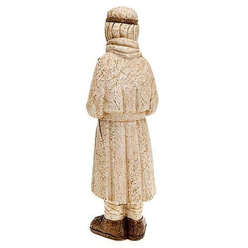 Pastore in piedi con bastone Presepe Contadino 5