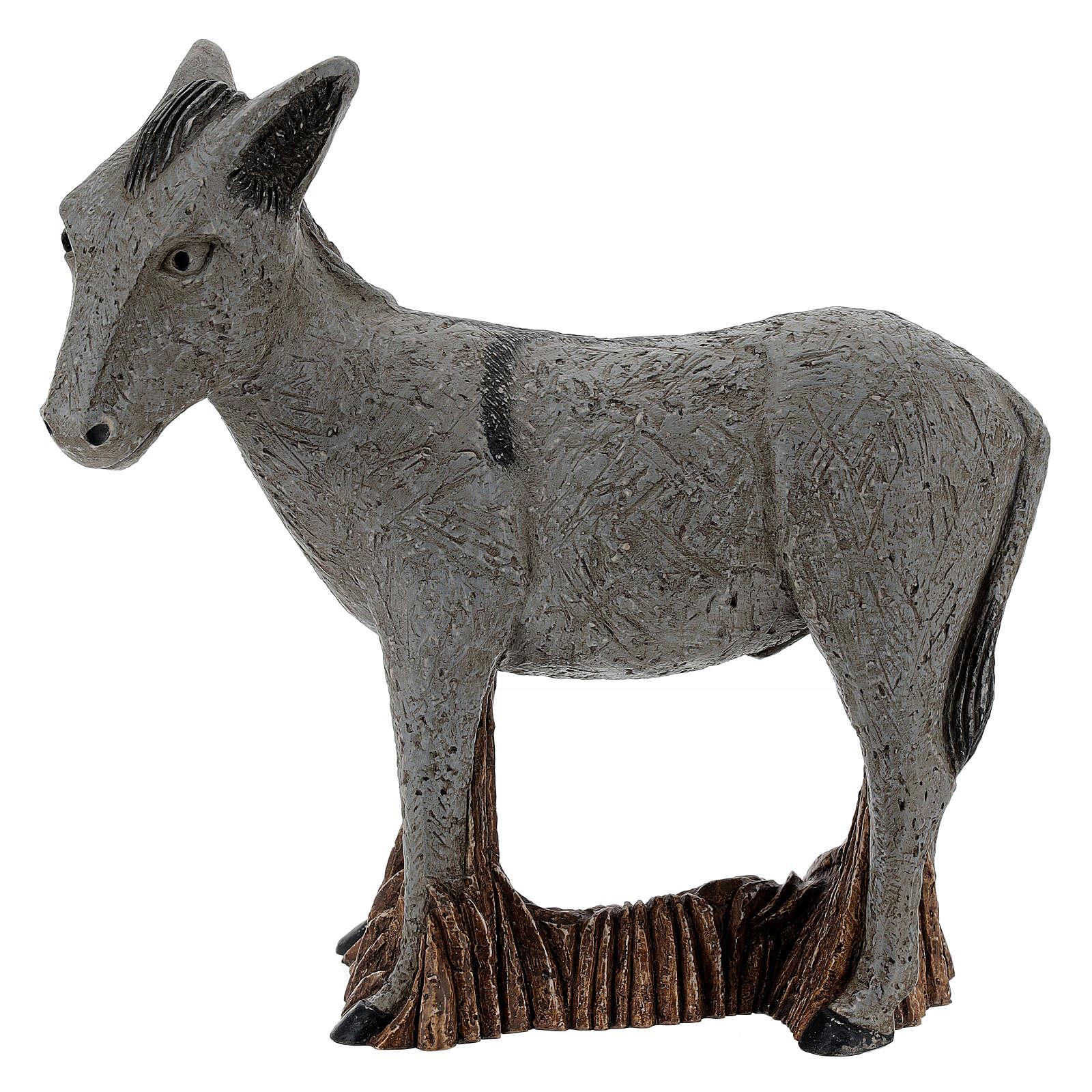 Donkey rural crèche bethleem monastery 4