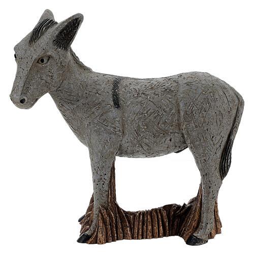 Donkey rural crèche bethleem monastery 1