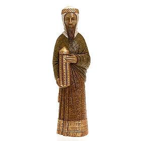 Crèches Monastère de Bethléem: Roi mage Balthazar pour la crèche Paysanne
