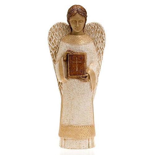 Ange avec livre pour la crèche Paysanne 1