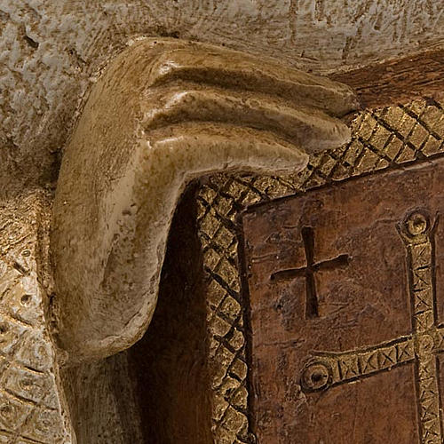 Angelo con libro Presepe Contadino Bethléem 2