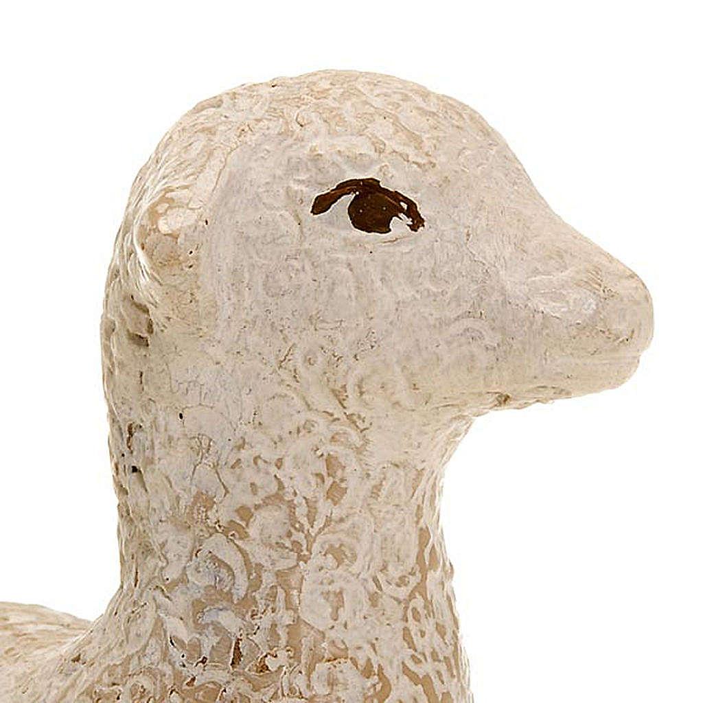 Brebis et agneau pour la crèche Paysanne 4