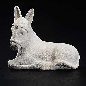 Burrinho Presépio de Autun pedra branca s3