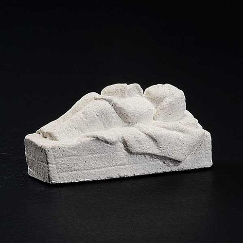 Infant Jesus Autun Nativity in natural stone 3