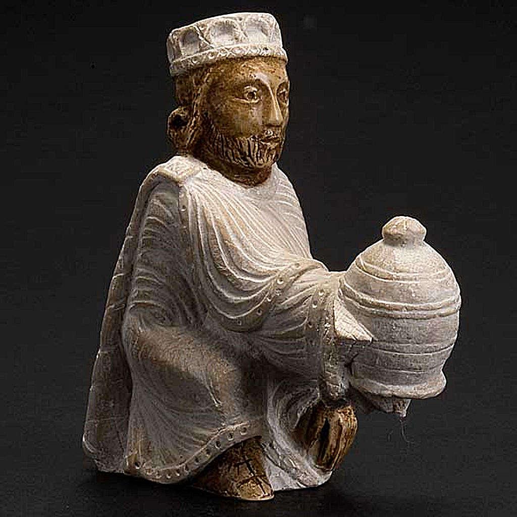 Persian wise man Autumn crib white painted 4