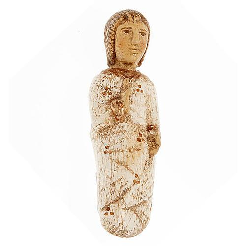 Gesù Bambino Presepe d'Autunno legno dipinto 1