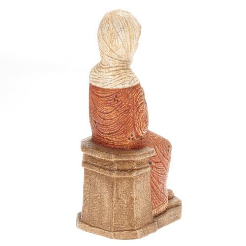 Maria Presepe d'Autunno legno dipinto 3