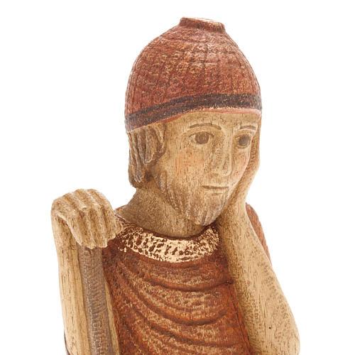 San Giuseppe Presepe d'Autunno legno dipinto 2