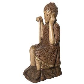 Big Autumn Crib St Joseph figurine in stone Bethléem s2