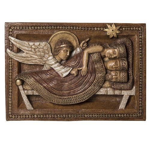 Sogno Re Magi e Angelo pietra Bethléem Gran Presepe Autunno 1