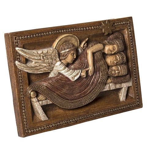 Sogno Re Magi e Angelo pietra Bethléem Gran Presepe Autunno 2
