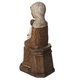Vierge enfant grande crèche d'autun pierre Bethleem s4