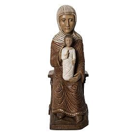Big Autumn Crib Mary and Jesus statue in stone Bethléem s1