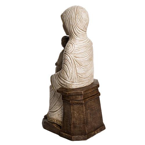 Maria e Gesù Bethléem Gran Presepe Autunno bianco 4