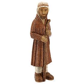 Pastor de pie con bastón siena oscuro Pres. Campesino s5