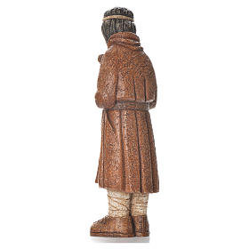 Pastore in piedi con bastone terra di Siena Pres. Contadino s3