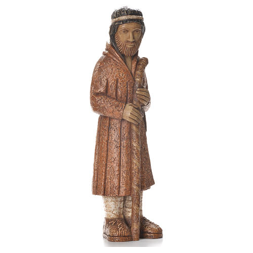 Pastore in piedi con bastone terra di Siena Pres. Contadino 4