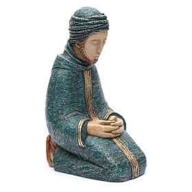 Saint Joseph bleu Nativité paysanne Bethléem s4