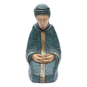 San Giuseppe blu Natività Contadina Bethleem s1