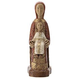 Statues en pierre: Vierge, porte du ciel