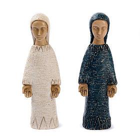 Statues en pierre: Vierge de l'Annonciation