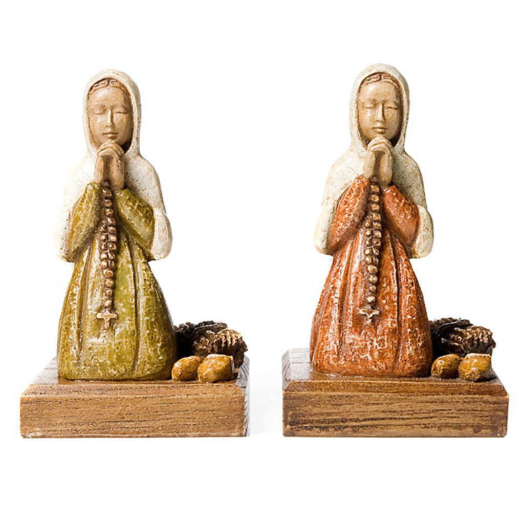 Święta Bernardeta podczas modlitwy 4