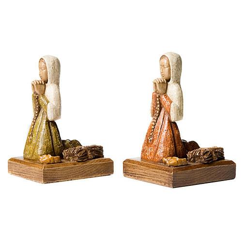 Święta Bernardeta podczas modlitwy 2