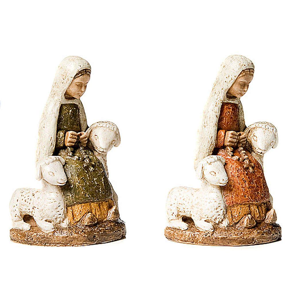 Santa Bernadette con pecorelle 4