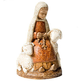 Santa Bernadette con pecorelle s3