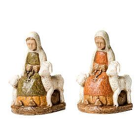 Święta Bernardeta z owieczkami s1