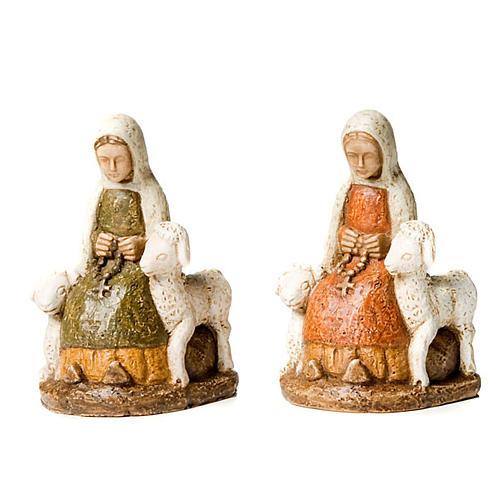 Święta Bernardeta z owieczkami 1