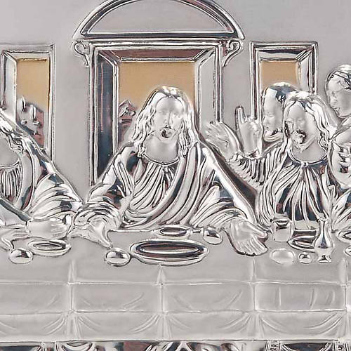 Gold/silver Bas Relief - Leonardo's Last Supper 4