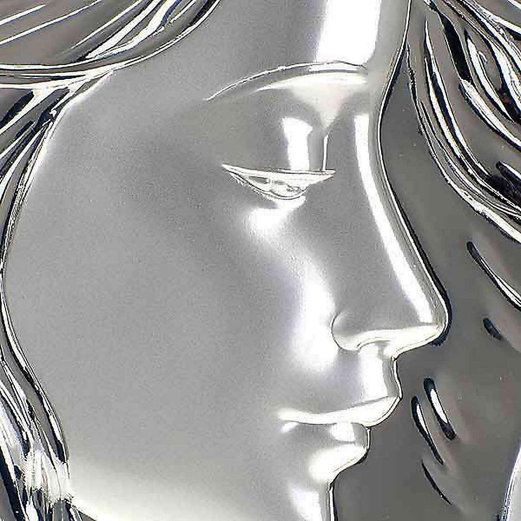 Bassorilievo bilaminato Madonna con bimbo quadrato 4
