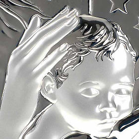Bassorilievo bilaminato Madonna con bimbo quadrato s3