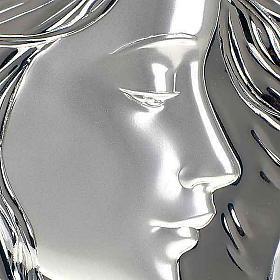 Bassorilievo bilaminato Madonna con bimbo quadrato s4