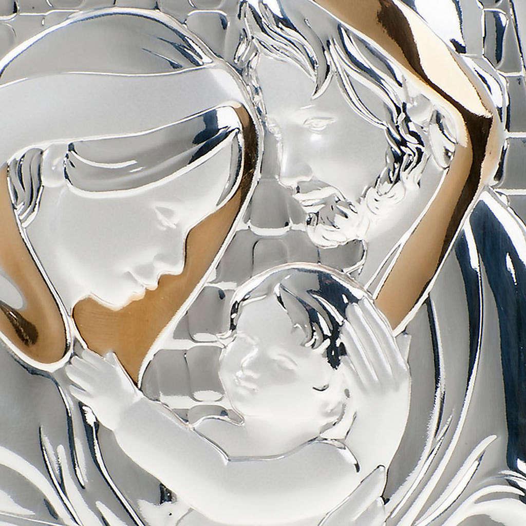 Bajorrelieve oro-plata Sagrada Familia 4