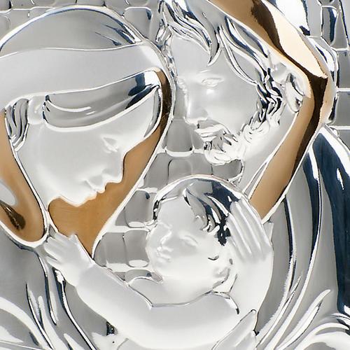 Bajorrelieve oro-plata Sagrada Familia 3