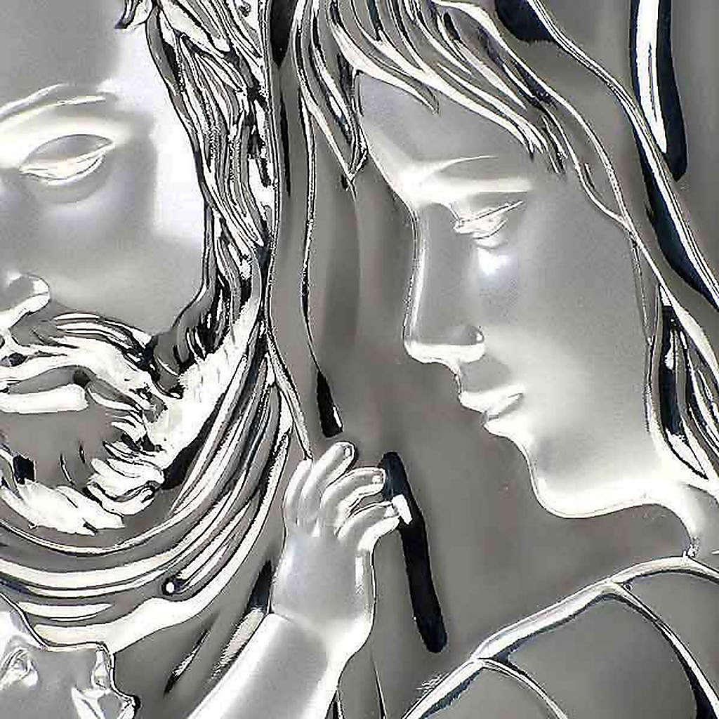 Bassorilievo bilaminato Sacra Famiglia ovale 4