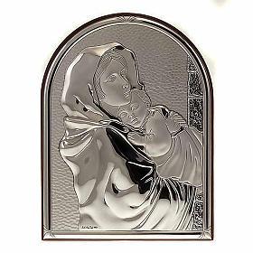 Bassorilievo bilaminato Madonna del Ferruzzi ovale base dritta s1