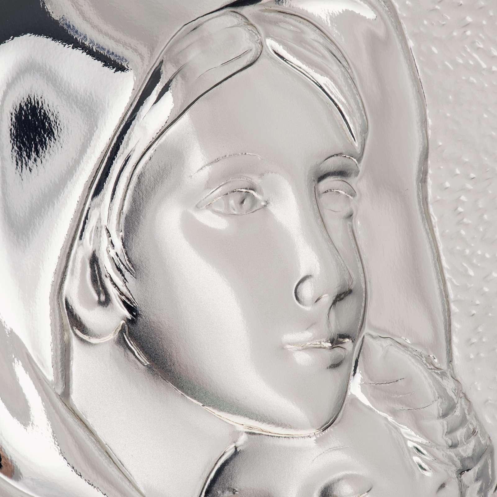 Bassorilievo bilaminato Madonna del Ferruzzi rettangolare 4