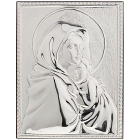 Bassorilievo bilaminato Madonna del Ferruzzi rettangolare s1