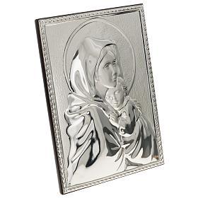 Bassorilievo bilaminato Madonna del Ferruzzi rettangolare s2
