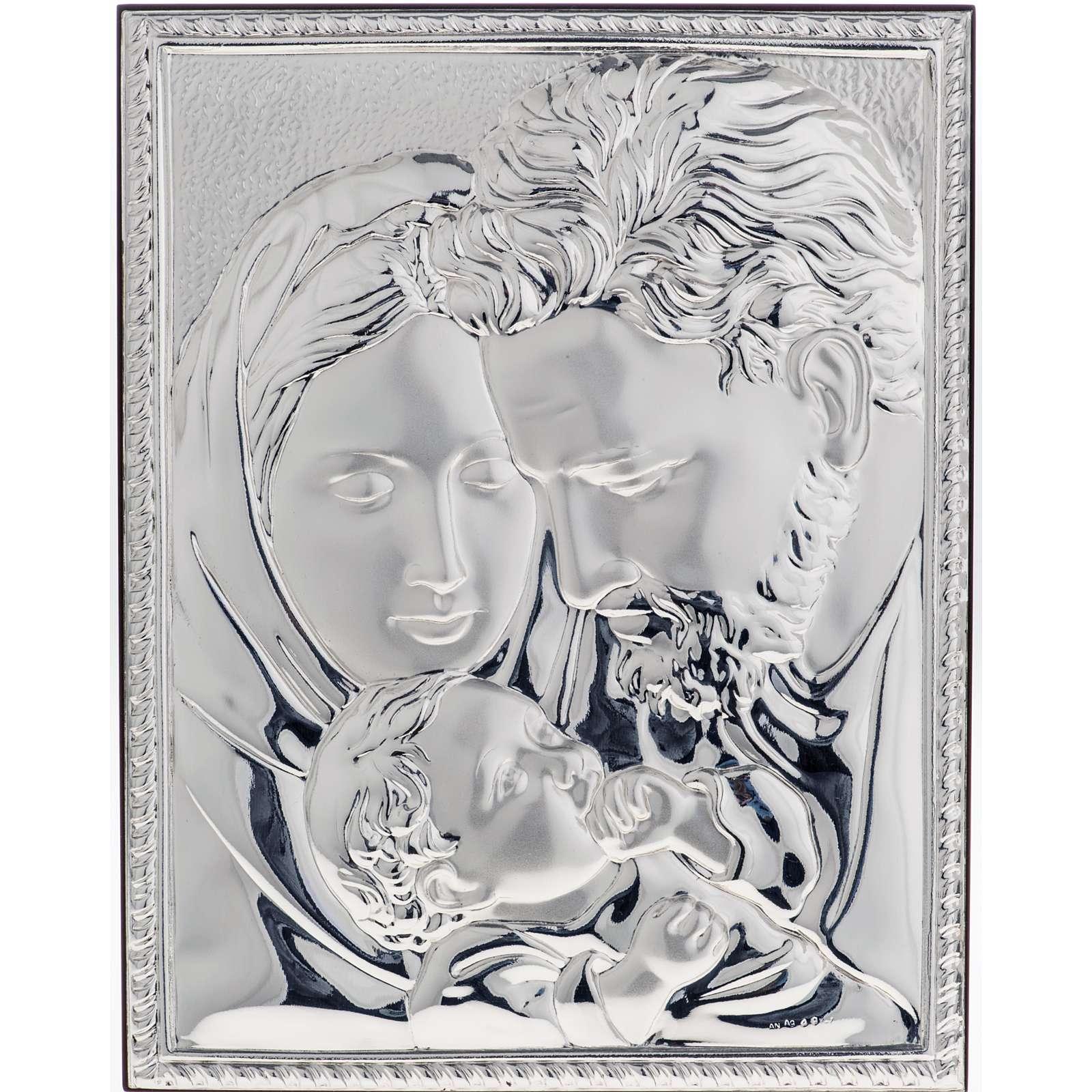 Bajorrelieve plata Sagrada Familia - cuadro 4