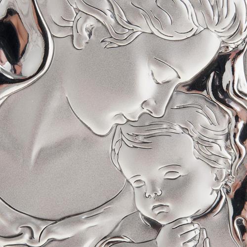 Bassorilievo bilaminato Madre con velo e bimbo 2