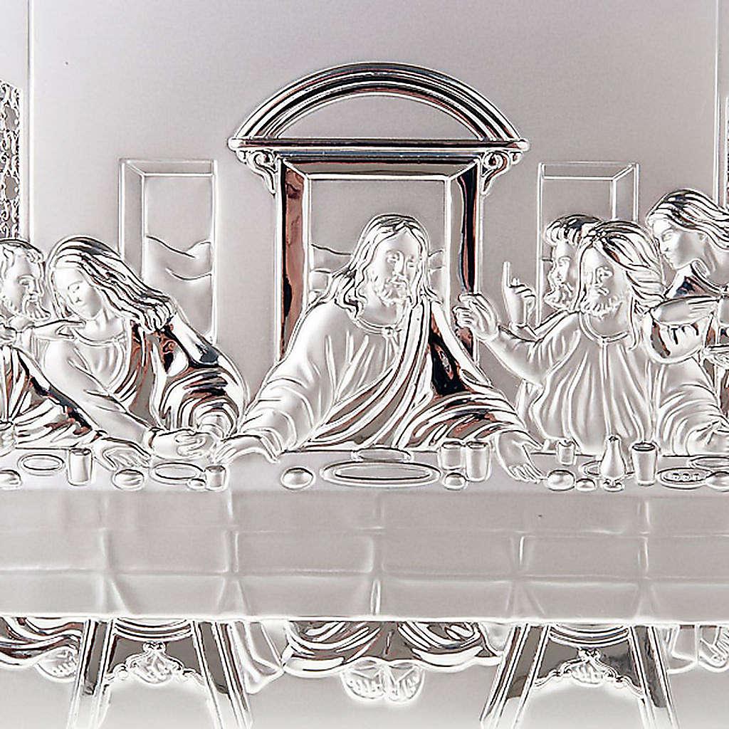 Silver profiled Bas Relief - Leonardo's Last Supper 4
