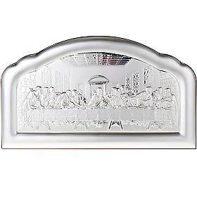 Silver profiled Bas Relief - Leonardo's Last Supper s1